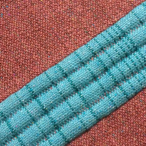 Padded double weave