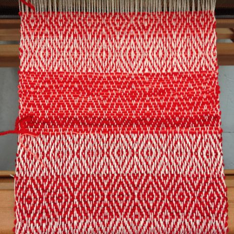 Krissana's first weaving