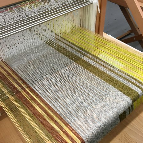 Margareta's first warp