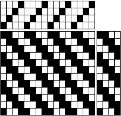 weaving draft in liftplan format