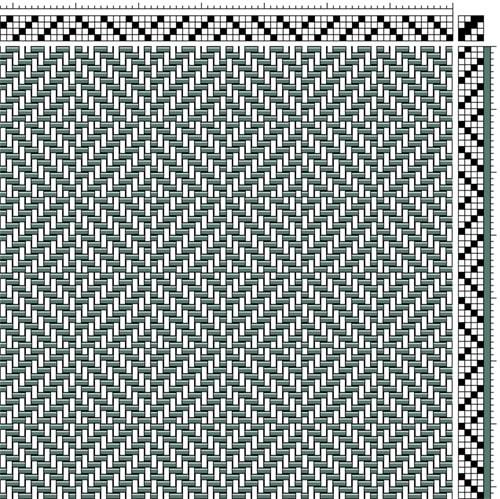 12 Twills of Christmas: Twill 8 | Goose Eye | Weaving Space