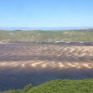 Tidal patterns in Kyle of Durness