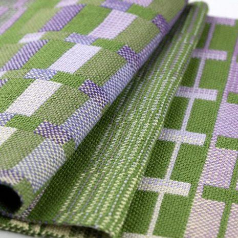 Double weave sampler